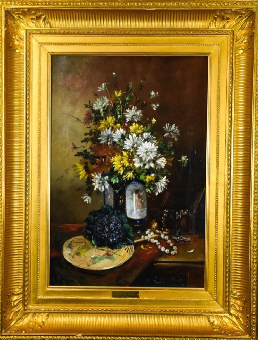 Eugene Henri Cauchois Still Life Oil Painting