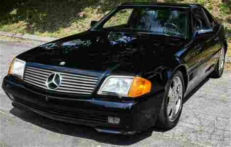 1991 Mercedes Benz 500SL Convertible Coupe