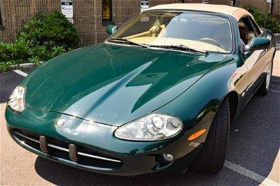 1997 Jaguar XK8 Green Coupe Convertible