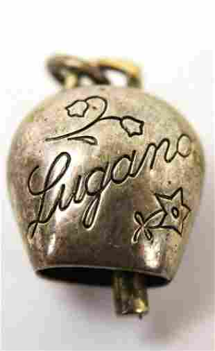 Vintage Sterling Silver Lugano Switzerland Charm