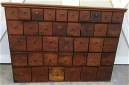 Antique Apothecary Multi Drawer Cabinet