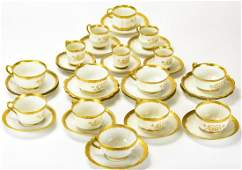 Collection Porcelain Tea & Coffee Cups / Saucers