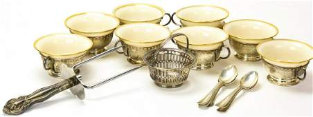 Collection Sterling Silver Accent Service Ware