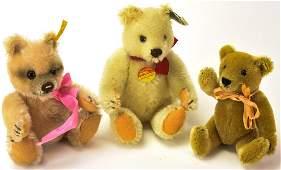 Vintage Toys - German Steiff Stuffed Teddy Bears