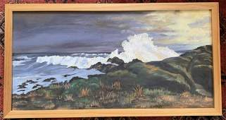 Oil Painting Landscape Scene Framed