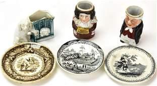 Antique 19th C English Child Size Porcelain Lot