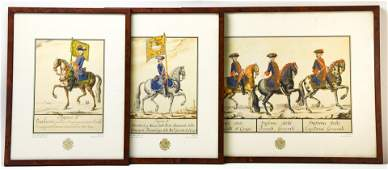 3 Teatro Militar de Europa Taccoli Framed Prints