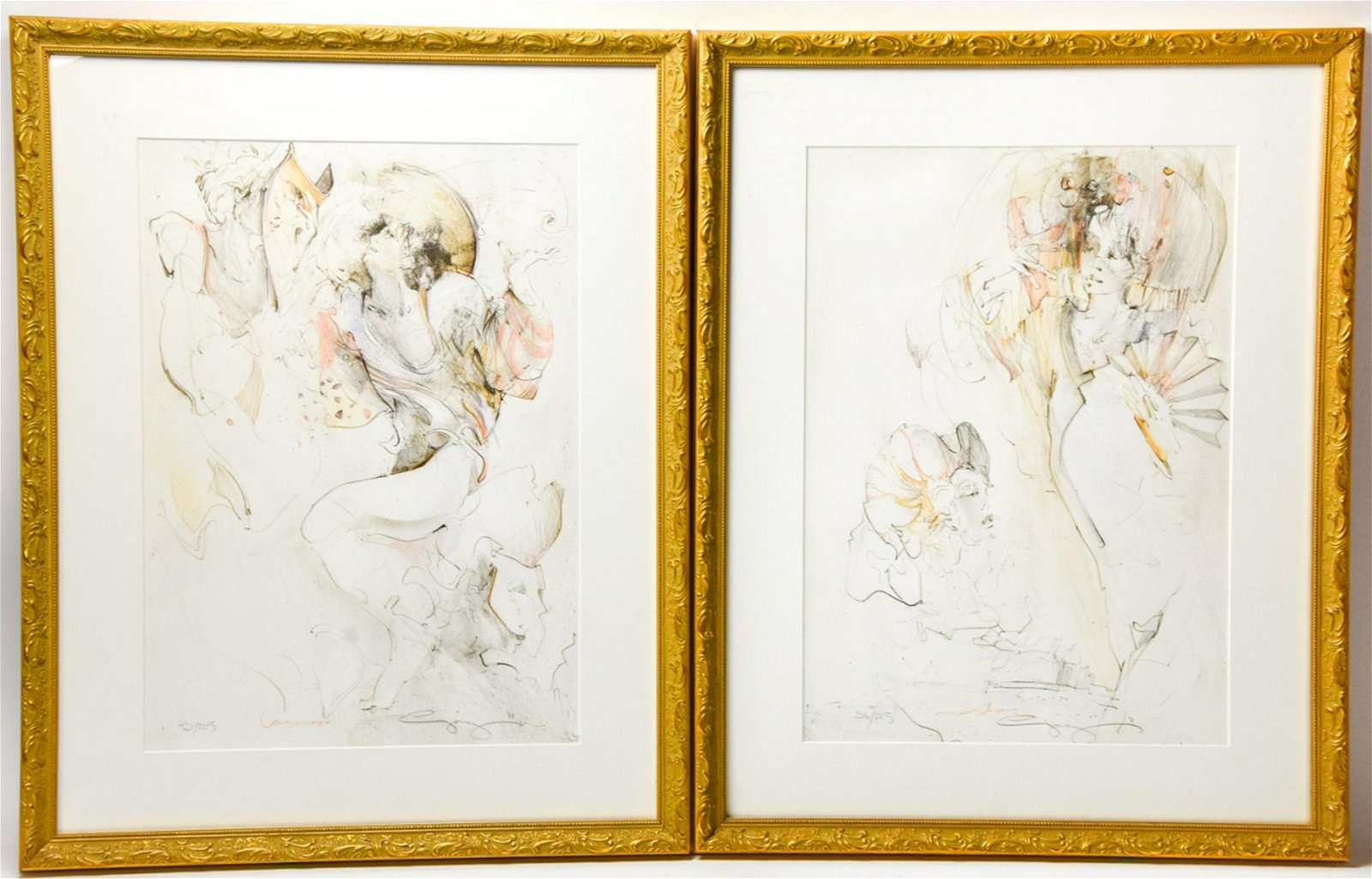 Robert Beauchamp Pencil Signed Art Limited Edition Lithograph