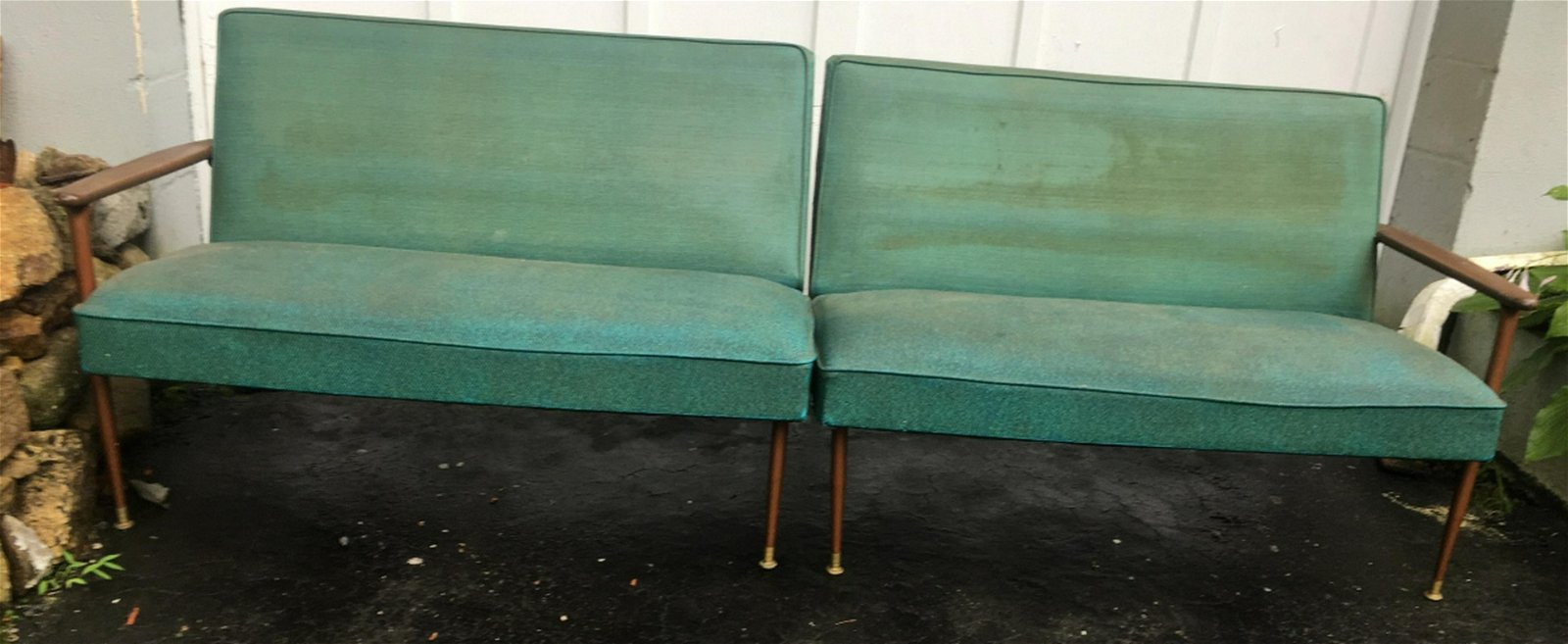 Vintage Mid Century Modern Sofa / Couch