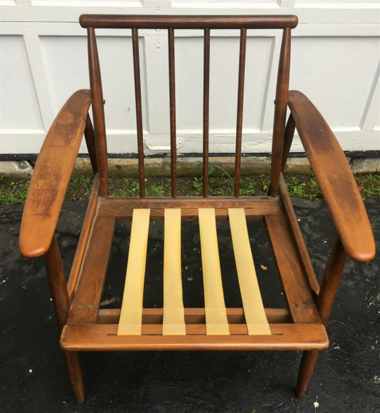 Vintage Mid Century Modern Arm Chair