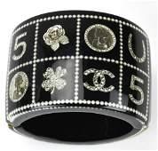 Chanel 14 C Acrylic Lucky Cuff Bracelet