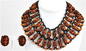 Vintage Ornella Milan 1960s Jewelry Suite