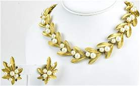 Vintage 1960s Trifari Jewelry Suite