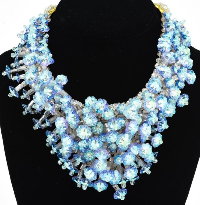 Rare Circa 1960s Coppola e Toppo Crystal Necklace