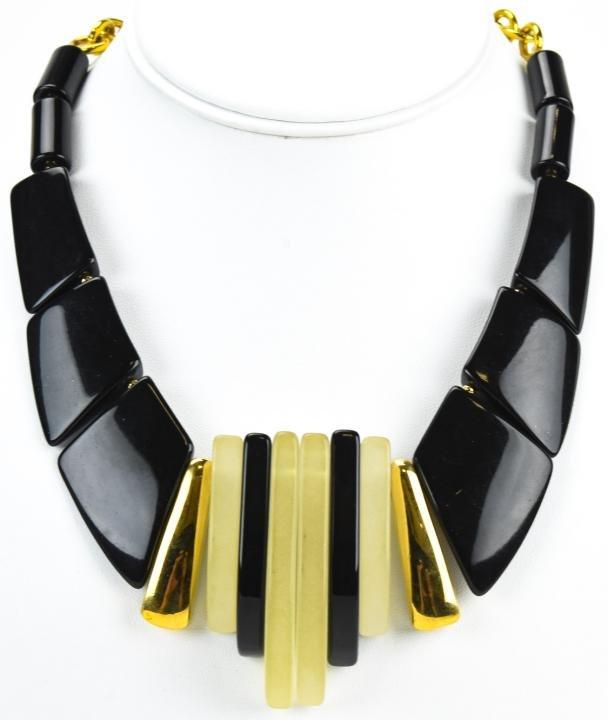 Vintage C 1960s Park Lane Art Deco Style Necklace