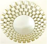 Bassett Furniture Contemporary Style Round Mirror
