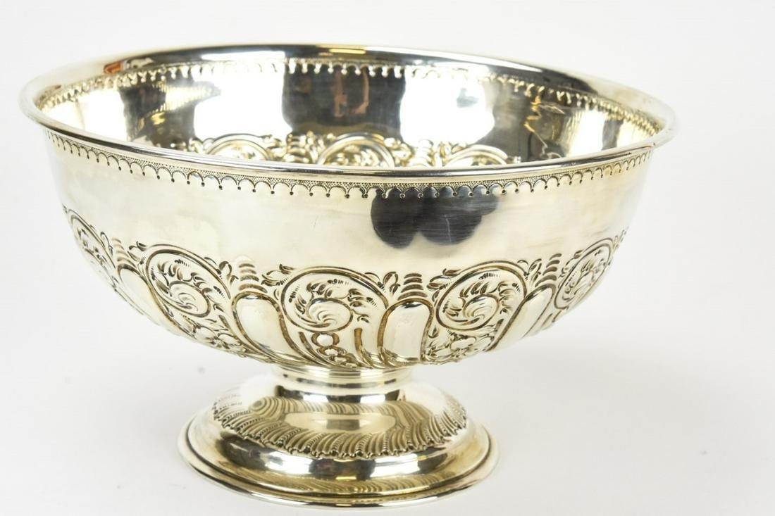 Antique 1899 Sterling Bowl w Washington Provenance