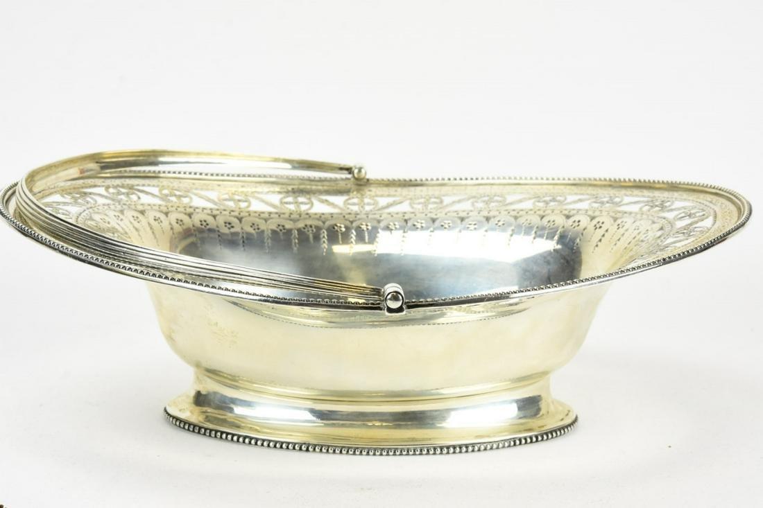 Antique 1787 Sterling Silver Basket w Provenance