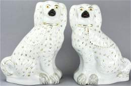Pr Large Scale English Staffordshire Spaniel Dogs