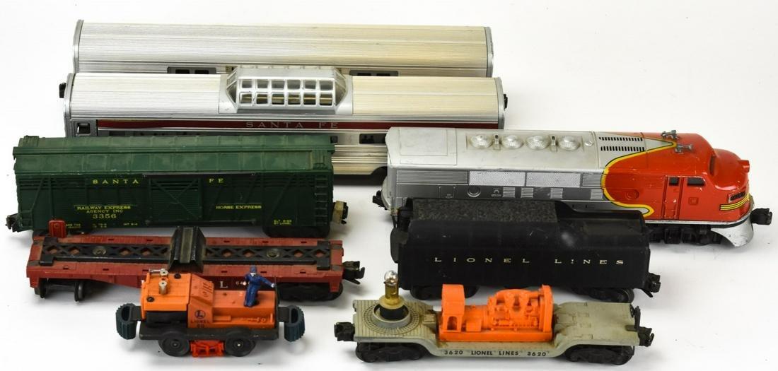 Collection Vintage Lionel Train Cars