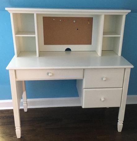Contemporary Children's White Desk