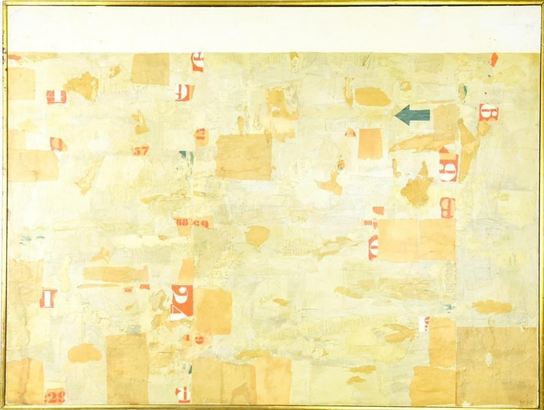 "Rosamond Berg ""After the Flood"" Shadowbox Painting"