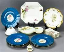 Collection Antique Limoges Porcelain Pieces