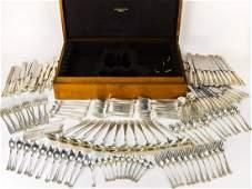 Antique Tiffany  Co Sterling Silver Flatware Set