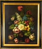 Old Master Style Floral Still Life Painting
