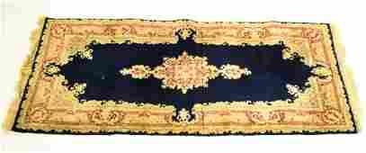 Persian Oriental Kerman Hand Knotted Wool Rug