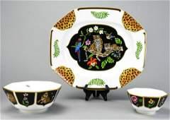 Lynn Chase Jaguar Jungle Porcelain Serving Pieces
