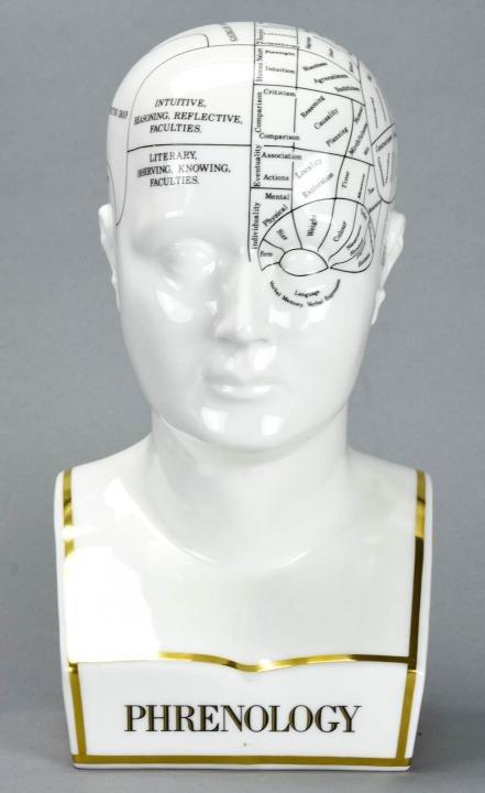 Coalport England Limited Edition Phrenology Head