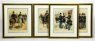 HG Ogden Framed Prints of Lithographs Civil War