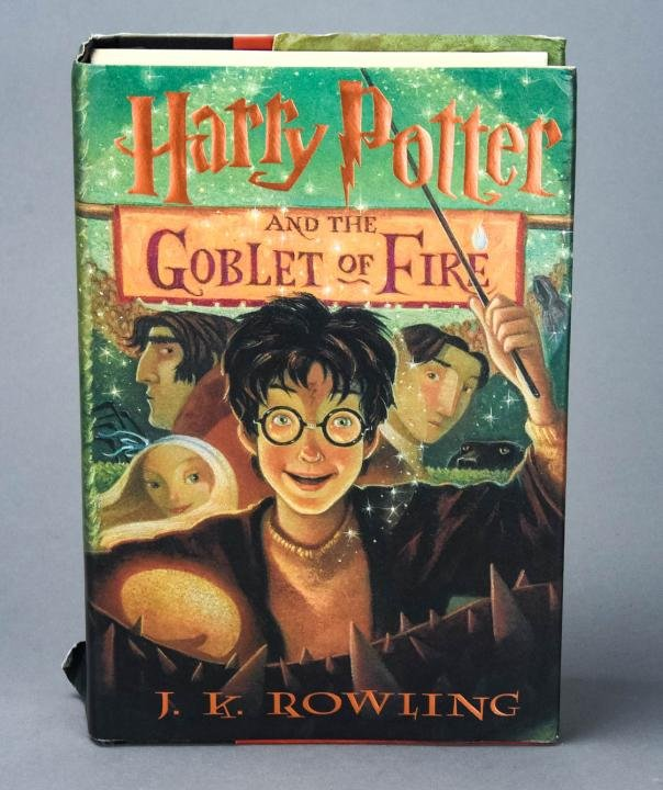 Harry Potter First Edition Goblet of Fire Book