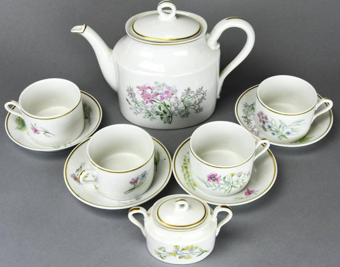 Richard Ginori Primavera Porcelain Coffee Set