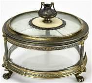 Antique Austrian 900 Silver  Enamel Box
