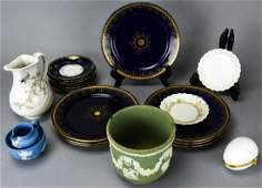 Collection of Porcelain Incl Limoges  Wedgwood