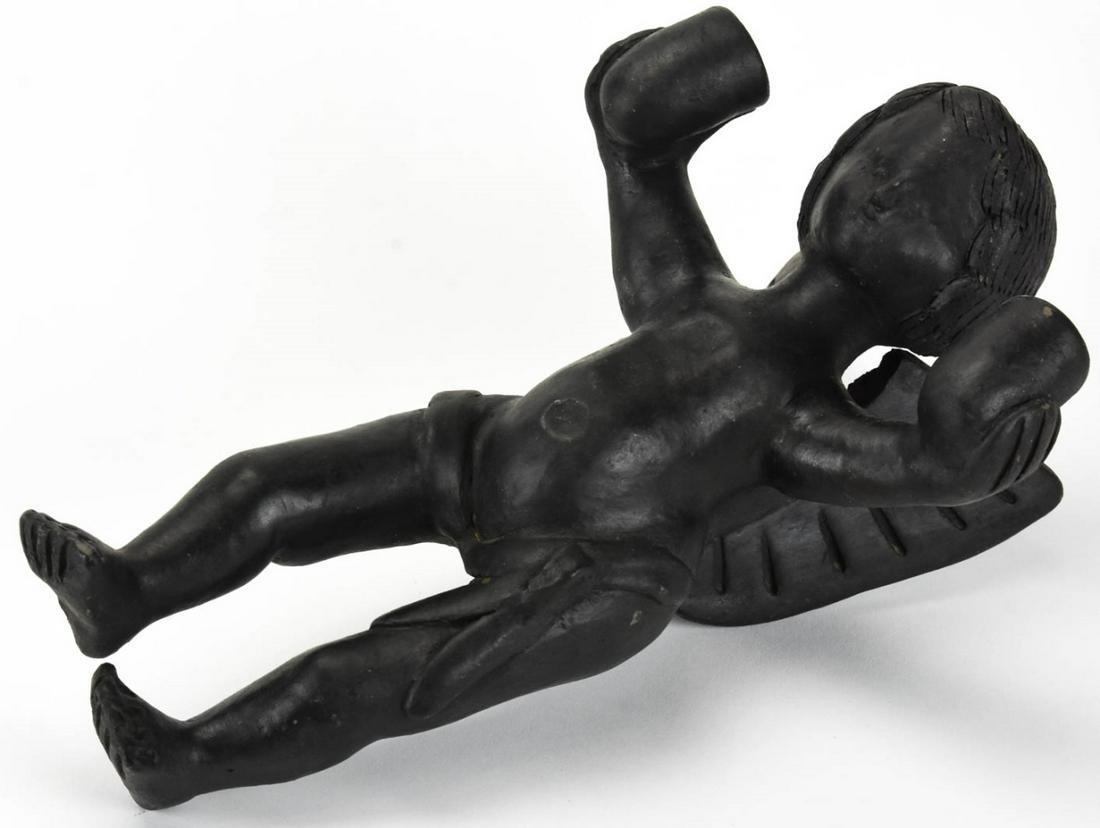 Antique Figural Angel / Putti Wall Element
