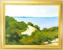 Jean Louis Pepin Landscape Scene Oil Painting