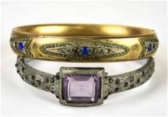 Antique Edwardian & Art Deco Style Bangle Bracelet