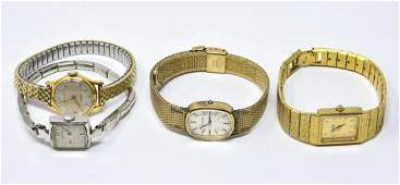 Collection of Four Vintage Ladies Watches