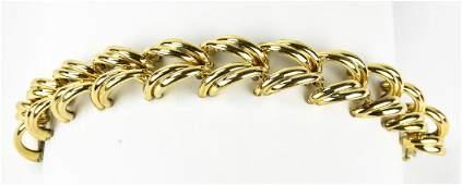 Vintage C 1940s Gold Filled Bracelet by Coro