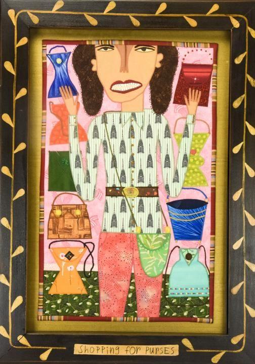 Chris Roberts Antieau Contemporary Folk Art Work