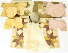 Collection Antique & Vintage Doll Clothes & Quilts