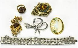 Collection Antique & Vintage Costume Jewelry