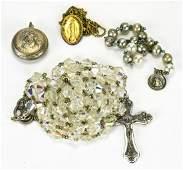 Group of Vintage Catholic Religious Jewelry