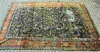 Oriental Hamadan Persian Wool Rug / Carpet