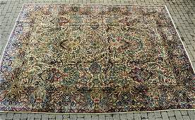 Oriental Kerman Persian Wool Rug / Carpet