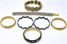 Collection Vintage  Contemporary Costume Bracelet