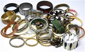 Collection of Vintage  Contemporary Bracelets